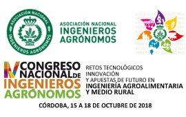 IV CONGRESO NACIONAL INGENIEROS AGRONOMOS (190618 a 181018)